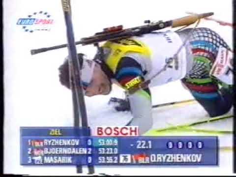WC 1998 99 HOCHFILZEN BIATHLON INDIV RYZHENKOV
