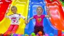 ВЛОГ Ярослава в Развлекательном Центре для Детей! Indoor Playground for kids Play Center!