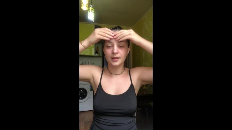 Корректирующий массаж лица