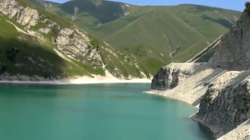 9 Страшная Чечня. Приехали на озеро Кёзеной Ам. Швейцария в Чечне. Горное озеро в Чечне