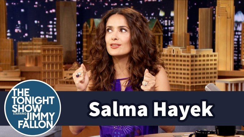 Salma Hayek Takes In Orphaned Dogs off the Street