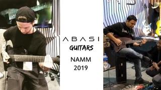Jason Richardson & Misha Mansoor + More! @ ABASI Guitars Booth | NAMM 2019 (Guitar Clips)
