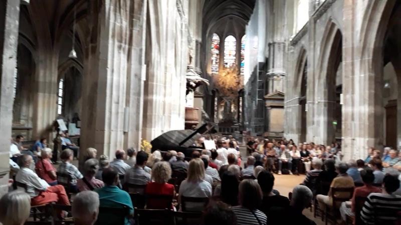 Концерт на фортепиано в церкви Сен-Мерри (Париж)