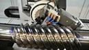Как делают резьбу и шлицы шестерёнки на токарно пресовачном станке и выборка она же долбёжка шлицов шестерни