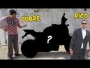 MENDIGO x EMPRESÁRIO - COMPREI MINHA MOTO NOVA VESTIDO DE MORADOR DE RUA (Teste Social)