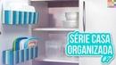 Como Organizar os Potes Plásticos Casa Organizada ep 7