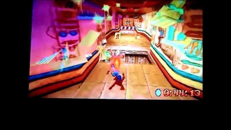 Crash Bandicoot 3:Warped (NTSC-J-version) Time Trial Sphyinxinator 49:83. PB Good.