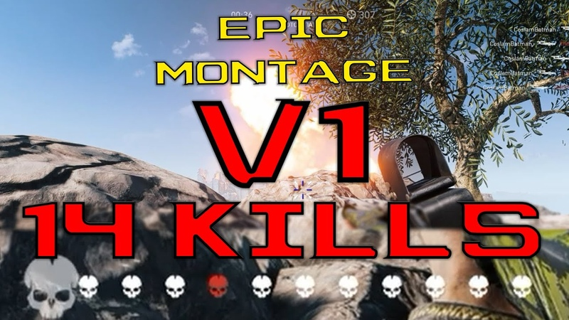 14 kills with V1 | Battlefield 5 | Epic Frag Movie