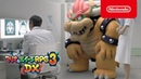 Обзорный трейлер Mario Luigi: Bowser's Inside Story Bowser Jr.'s Journey