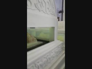 افتتاح مسجد الصحابي الجليل خالد ابن الوليد في مدينة حِمص بعد ترميمه واعادة بناء اجزاءه المدمرة التي اصابتها قذائف الإرهاب والحقد