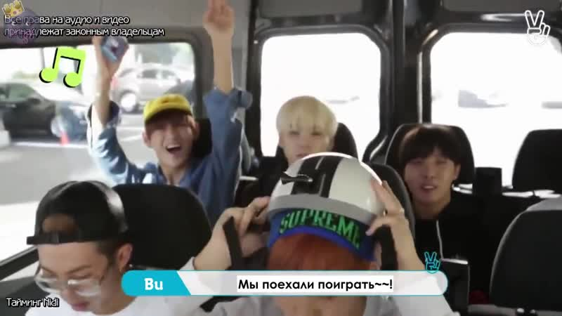 Run BTS [RUS SUB] Ep. 3