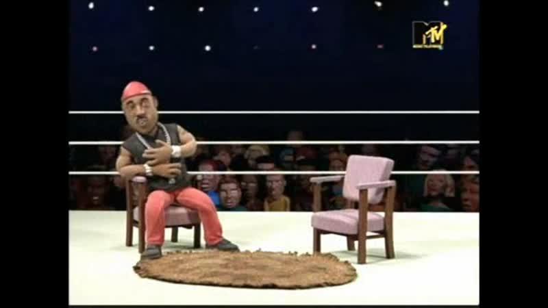 LL Cool J vs. Queen Latifah (4-й сезон) (October 20, 2002) - Celebrity Deathmatch