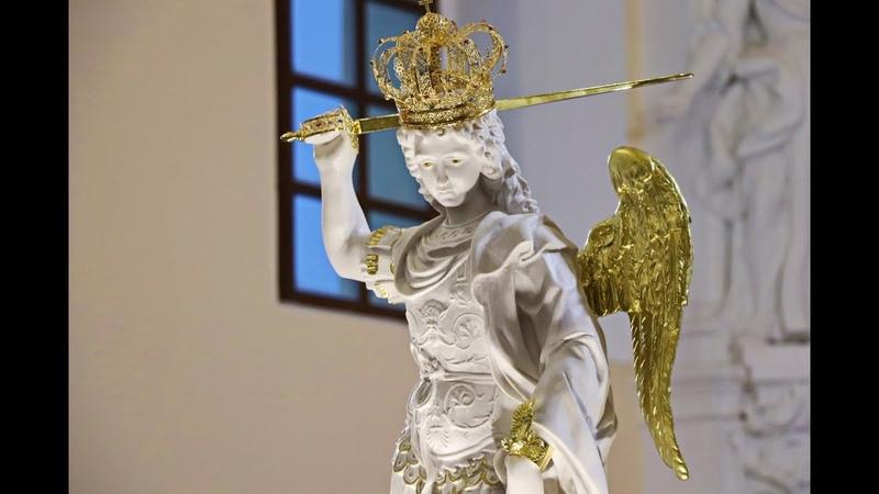 Перэгрынацыя фігуры Святога Міхала Арханёла | Наваградак