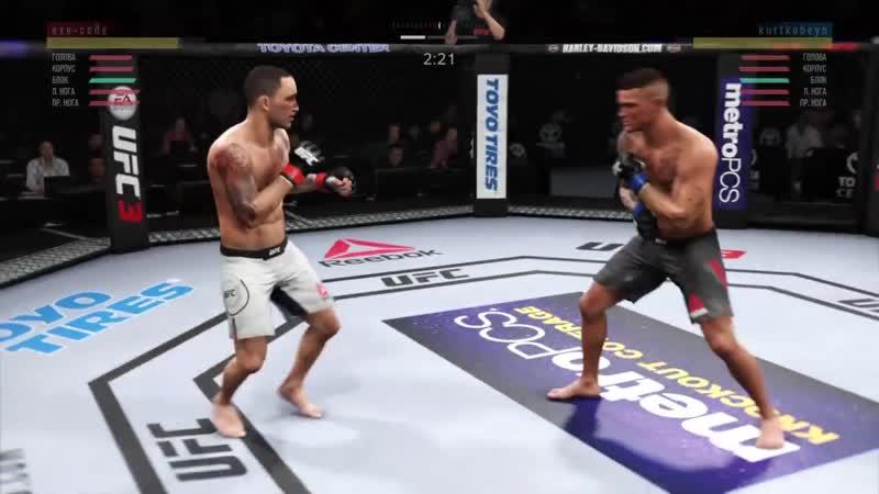 FFK 4 Fight Nights Фрэнки Эдгар vs Дастин Пуарье