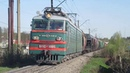 Электровоз ВЛ10-1885 с грузовым поездом станция Бекасово-Сортировочное 28.04.2019