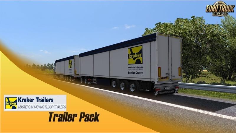 Euro Truck Simulator 2 - Kraker Walkingfloor Pack (Promo)