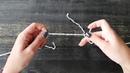 Как соединить концы нитей при вязании без узла