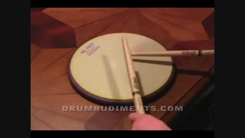 Drum Rudiments 21 - Flam Accent - DrumRudiments.com
