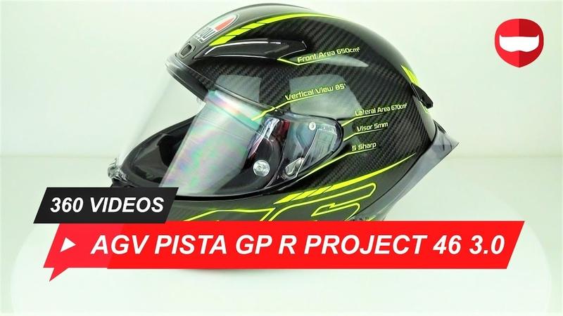 AGV Pista GP R Project 46 3.0 Helmet - ChampionHelmets.com