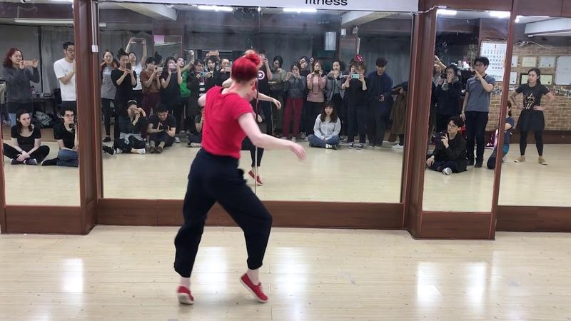 AJW 2018 Class Recap: Jo - Creating jazz steps from movement
