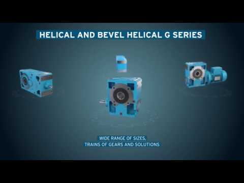 Rossi Helical and bevel helical G Series
