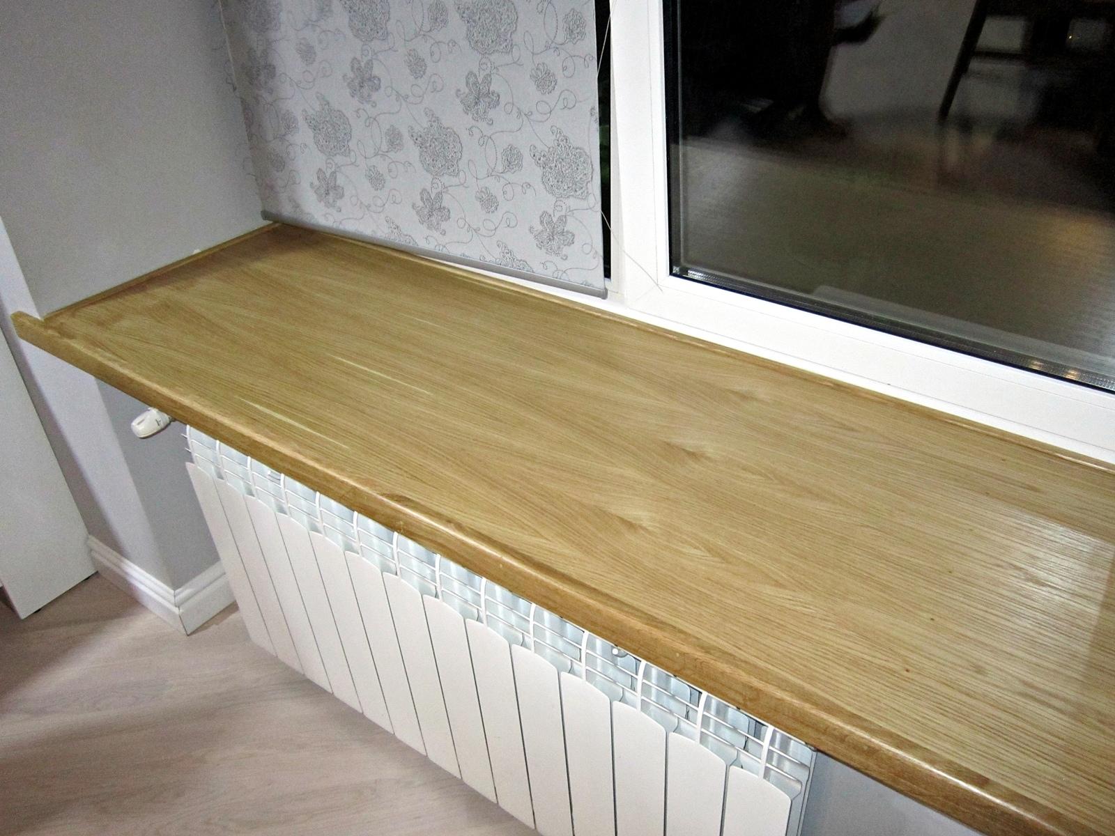Деревянные подоконники для пластиковых окон