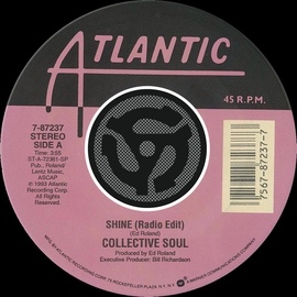 Collective Soul альбом Shine / Breathe [Digital 45]