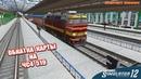 Trainz Simulator 12 Обкатка новой карты на чс4 519