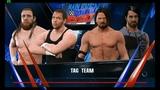 WWE 2k17 AJ Styles &amp Seth Rollins vs. Daniel Bryan &amp Dean Ambrose (Main Event)