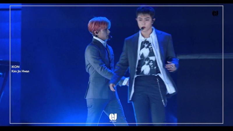 [FANCAM] 20190115 iKON Kim Jin Hwan 김진환 FOCUS - LOVE SCENARIO I'M OK @ Seoul Music Awards