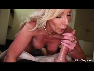 Clubtug - Fully Legal - handjob boobs busty blonde cumshot камшот дрочит член