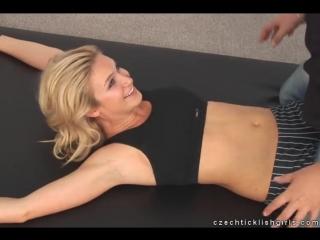 Tickling Beautiful Angela