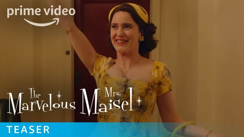 The Marvelous Mrs. Maisel Season 2 - Teaser | Prime Video