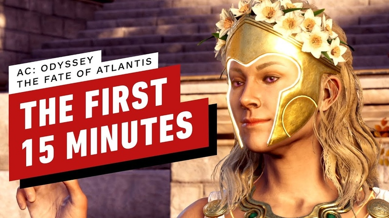 Assassin's Creed Odyssey The Fate of Atlantis DLC The First 15 Minutes