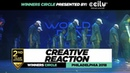 Creative Reaction   2nd Place Team  Winners Circle  World of Dance Philadelphia 2018   WODPHILLY18  