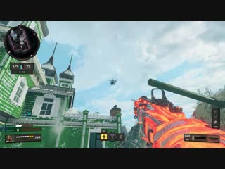 Heli steals my care package. black ops 4