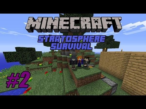 Minecraft. Прохождение карты Stratosphere Survival 2