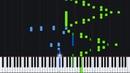 Mazeppa (Transcendental Etude No. 4) - Franz Liszt [Piano Tutorial] (Synthesia)