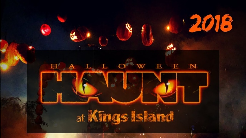 HAUNT at Kings Island 2018 | Scarezones Walkthrough - Opening Weekend!
