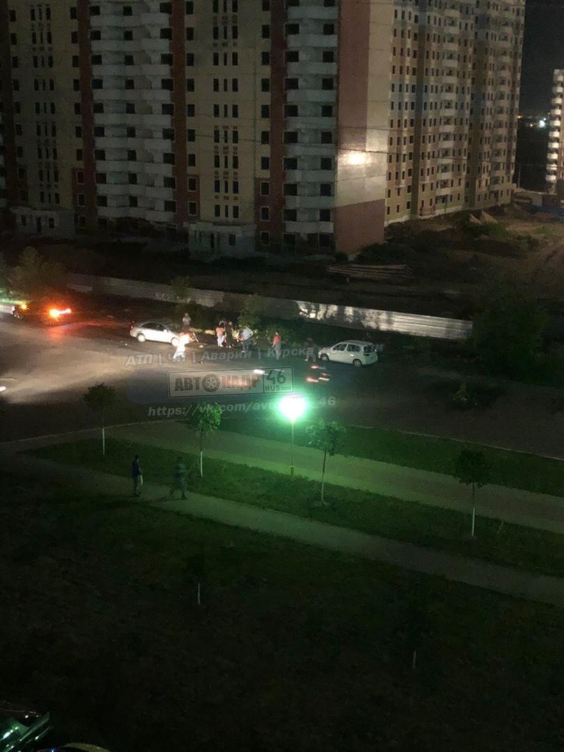В Курске подросток на мопеде врезался в «Шевроле»