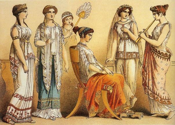 Древнеримские женщины не имели личных имён