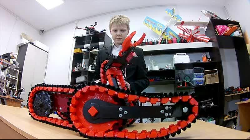 Анапский школьник создал робота-сапера и выиграл краевой конкурс