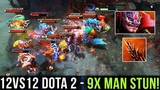 hOlyhexOr Lion 9x Man Stun in 12v12 Custom Map Dota 2 - WOMBO COMBO TIME vs Immortal Players - Dota2