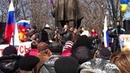 Луганск Шахтер взорвал митинг правдой 30 03 2014