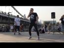 ЛИГА БИТБОКСА - Саид aka Музыкант (Выступление в парке Музеон в день города Москвы)