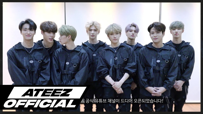 ATEEZ(에이티즈) Official YouTube Channel Open!