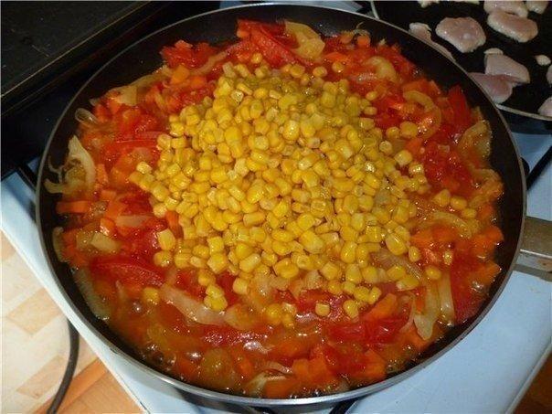Рагу по-мексикански. Оригинальное и вкусное блюдо!
