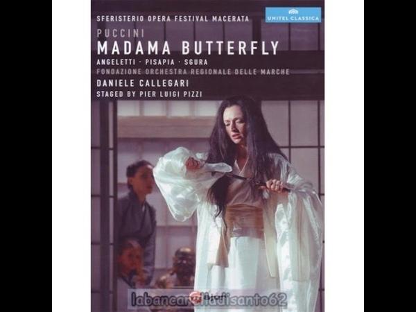 Madama Butterfly Sferisterio Opera Festival Macerata