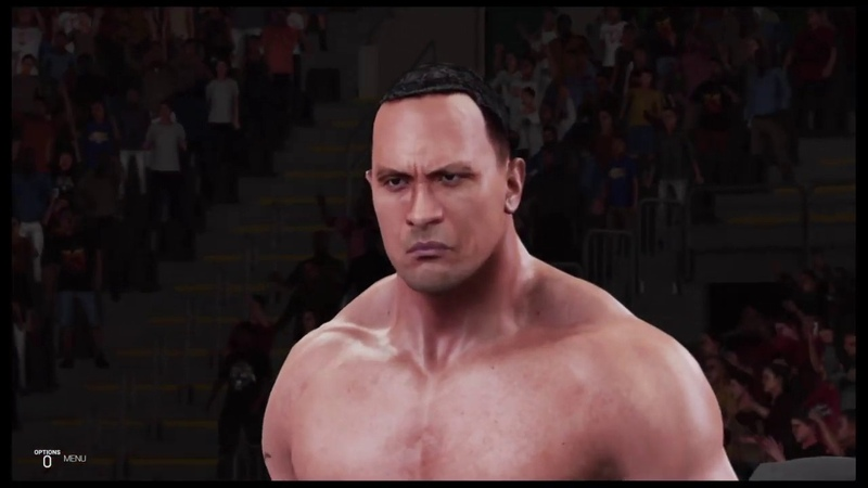 WWE 2K19 British Bulldog vs The Rock No Mercy '99