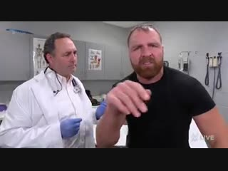 Dean ambrose visits personal doctor: raw, 11/26/18